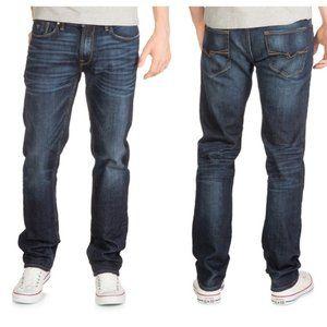 Guess Slim Straight Dark Blue Jeans size 38 x 32